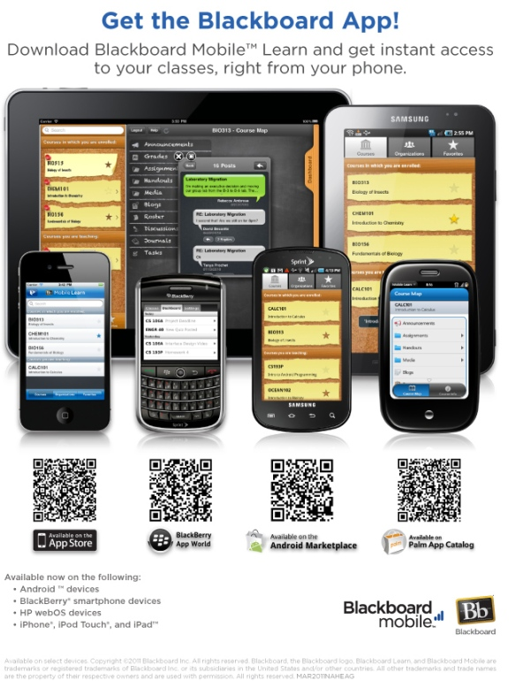Blackboard Mobile Learn App? - forums.crackberry.com