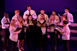 Fall 2012 Choir. Photo by Matt Carlin