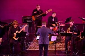 Fall 2012 Jazz Ensemble. Photo by Matt Carlin