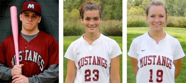 From left to right: Eric Lewandowski, Elizabeth Keegan, Kaitlyn Kelley. Photos by Amanda Rogers