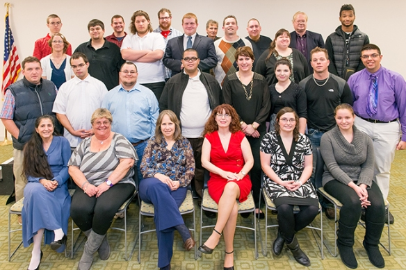 POWER and POWER Plus Program participants from December 2013 graduation ceremony.  Photo by Sandi Yanisko
