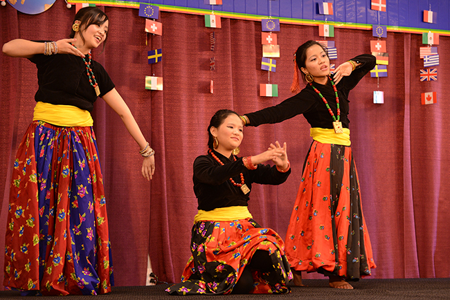 International performances and cuisine are highlights of MCCC's annual International Festival. Photo by Sandi Yanisko