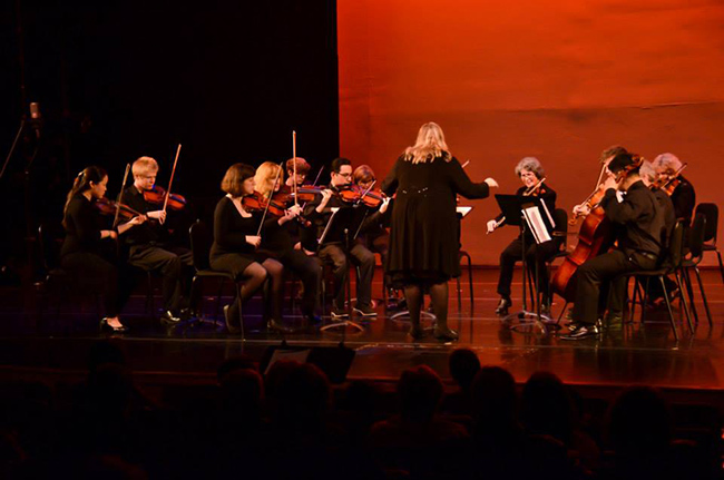Chamber Strings Ensemble. Photo by Matt Carlin