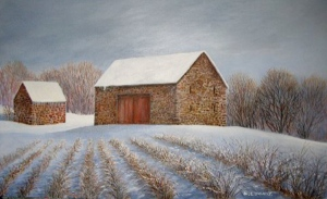 """Rows into Winter"" by Julie Longacre"