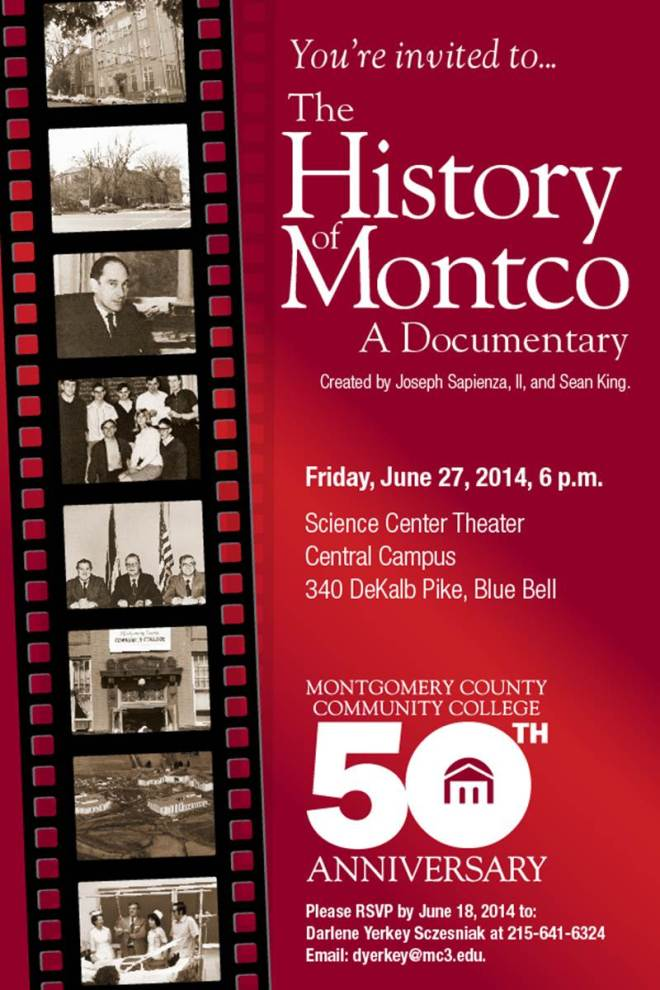 History on Montco Poster