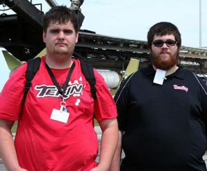 Montgomery students Paul Loizeaux and  Nate Francis