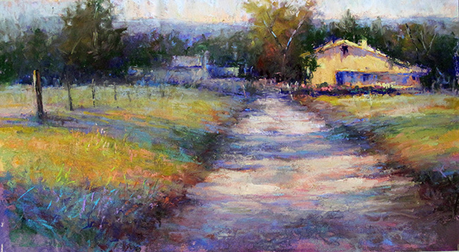 "Scenes of the Schuylkill River Heritage Area Best of Show, ""Haying Day,"" by Susan Williamson, Ambler."