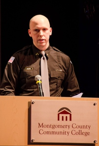 Sean Maguire,was valedictorian of Class 1402. Photo by Matt Carlin