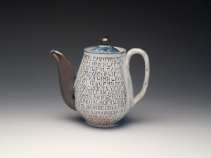 Ceramic artwork by Julia Galloway.