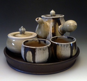 Ceramic artwork by Lorna Meaden.