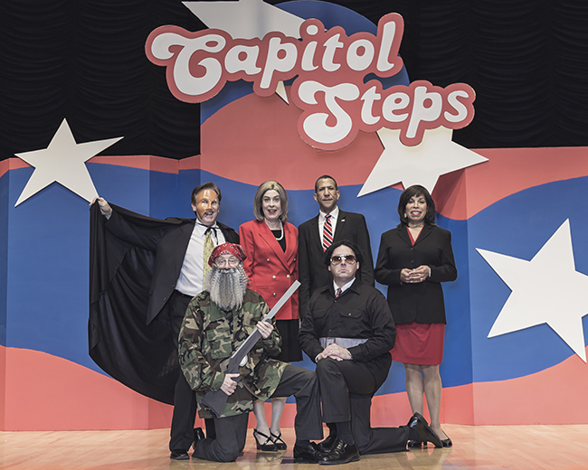 The Capitol Steps, photo by Michael M. Reyna