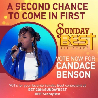 Click on the image above to vote for Candace Benson!