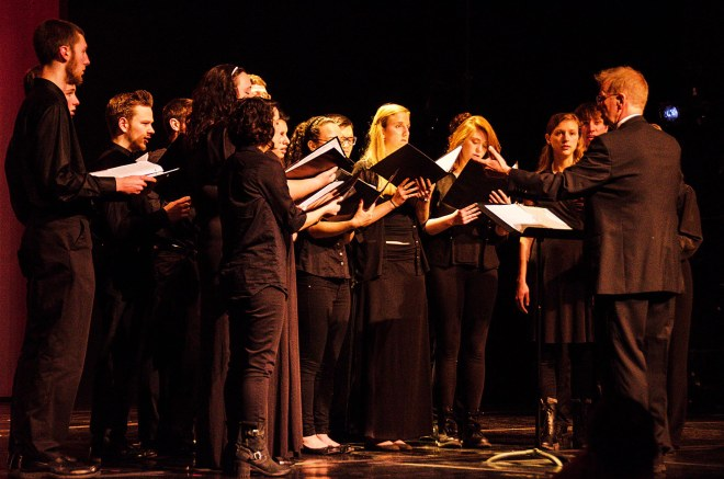 Chamber Choir. Photo by Matt Carlin