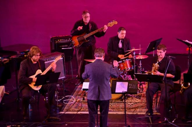 Jazz Ensemble. Photo by Matt Carlin