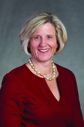 Lynn Utter will deliver the 2015 Commencement keynote address on May 21. Photo courtesy of Lynn Utter